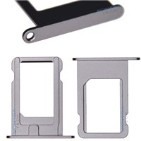 SIM card Tray Grey for Apple iPhone 5S