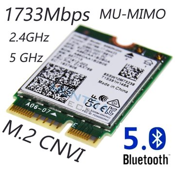 Internal WiFi card 1733Mbps for Computer Laptop Asus UX580G