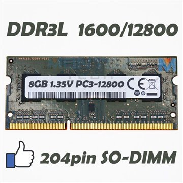 Memory RAM 8 GB SODIMM DDR3 for Computer Laptop HP 6-1080ef