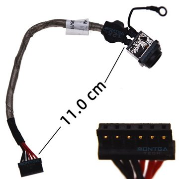Charging DC IN cable for Sony VAIO VPCF233FX power jack