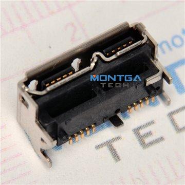 Micro USB port for External hard drive TOSHIBA 1TB STOR.E BASICS HDTB110EK3BA Data Connector welding jack