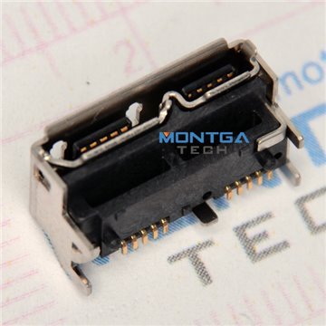 Micro USB port for External hard drive WD 500GB WD5000LMVW-11CKRS0 Data Connector welding jack