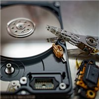 HP 500GB pd500a External hard drive Evaluation service for data recovery + Return costs / destroy