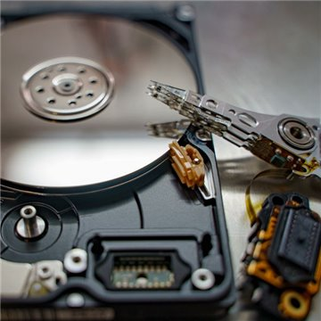 WD 320GB WD3200BMVV-11GNWS0 External hard drive Evaluation service for data recovery + Return costs / destroy