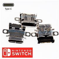 DC IN Type C for Game console Nintendo Switch power jack charging connector USB port for welding
