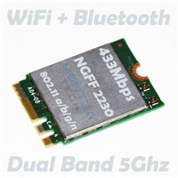 Internal WiFi card 433Mbps for Computer Laptop HP 15-AY018NF *S*