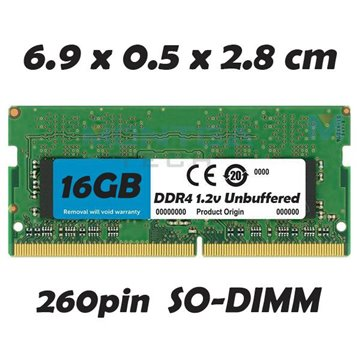 Memory RAM 16 GB SODIMM DDR4 for Computer Laptop Asus X409UA